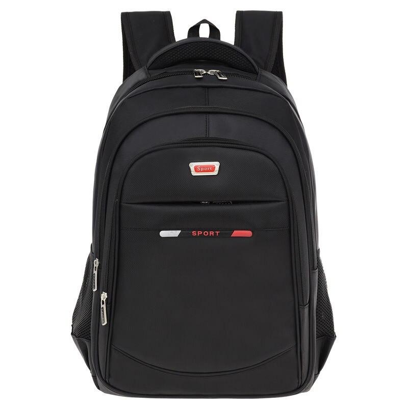 Водонепроницаемый мужской рюкзак из ткани Оксфорд, большой мужской уличный спортивный походный ранец для отдыха на открытом воздухе, школь...