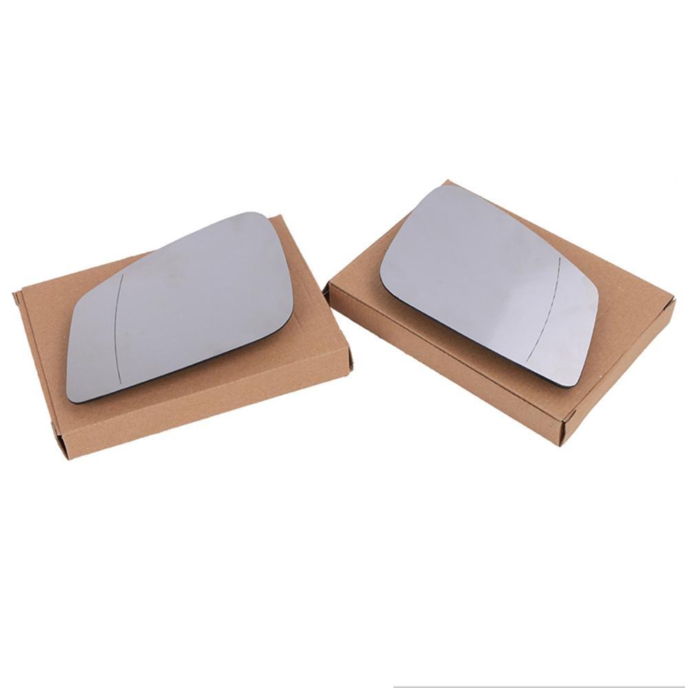 Espejo de cristal blanco derecho/izquierdo para Bmw F01 F07 F10 F11 F18 vista trasera Puerta de ala climatizada