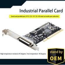 ASIX 9865 TXB084PCI równoległa karta rozszerzeń PCI do DB25 LPT karta konwertera drukarki na pulpit