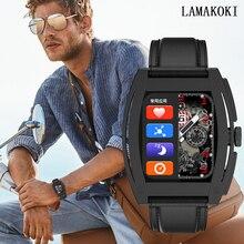 LAMAKOKI 2021 New F91 Smart Watch Women men Fashion Bluetooth Call Music  Fitness Sports Smartwatch