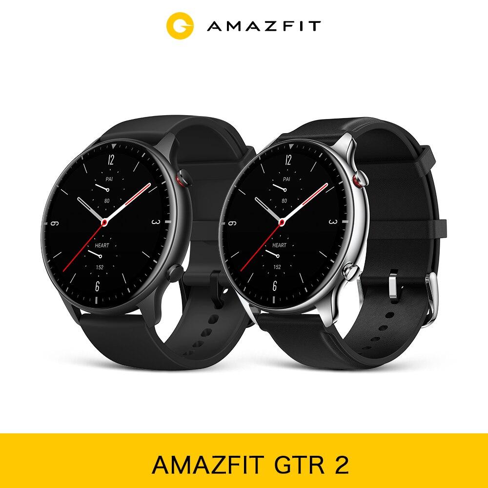 Amazfit GTR 2 Smartwatch 14 дней Срок службы батареи 5ATM уверенно время Управление мониторинг сна Смарт часы для телефонов на Android iOS Смарт-часы      АлиЭкспресс