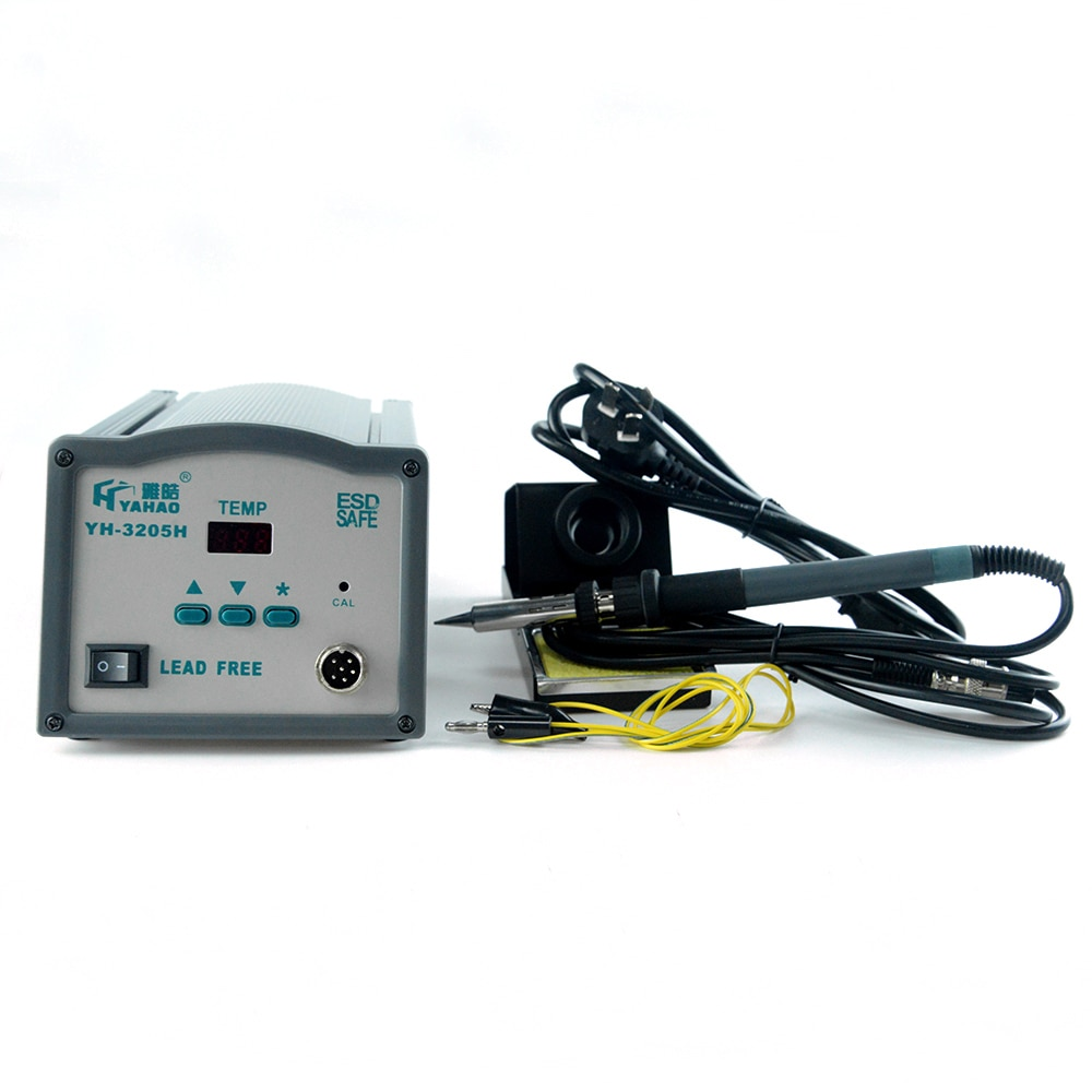Soldering Station 150W Electric Soldering Iron YH-205 Phone Repair Welding High Frequency Digital Display High-power Lead-free