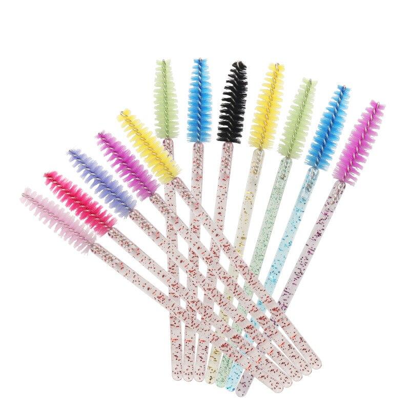 50Pcs Disposable Eyelash Brushes Eyelashes Extension Tools Eyebrow Brush Mascara Wands Applicator Spoolers Eyelashes Cosmetic