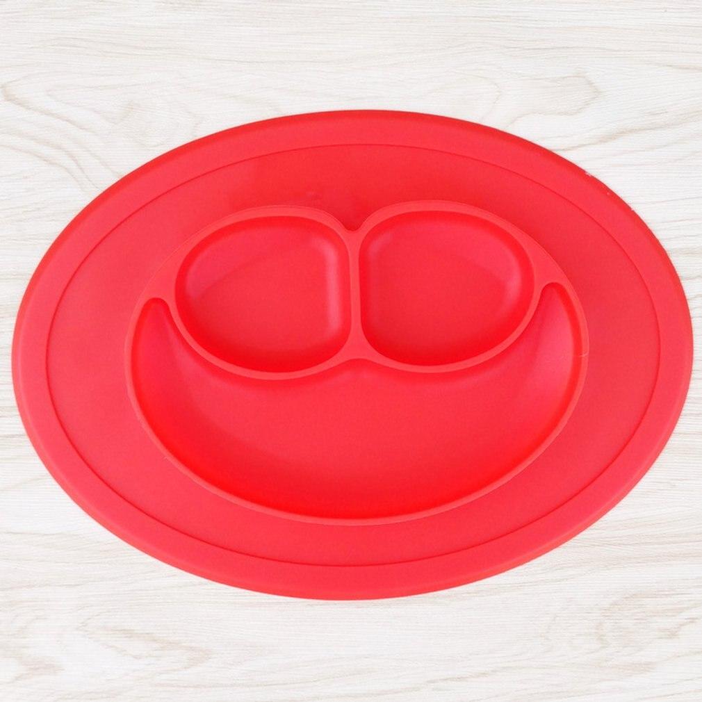 Plato de bebé de silicona, Mantel Individual antideslizante, plato de suplemento alimenticio infantil, plato de silicona para niños, bandeja de alimentación