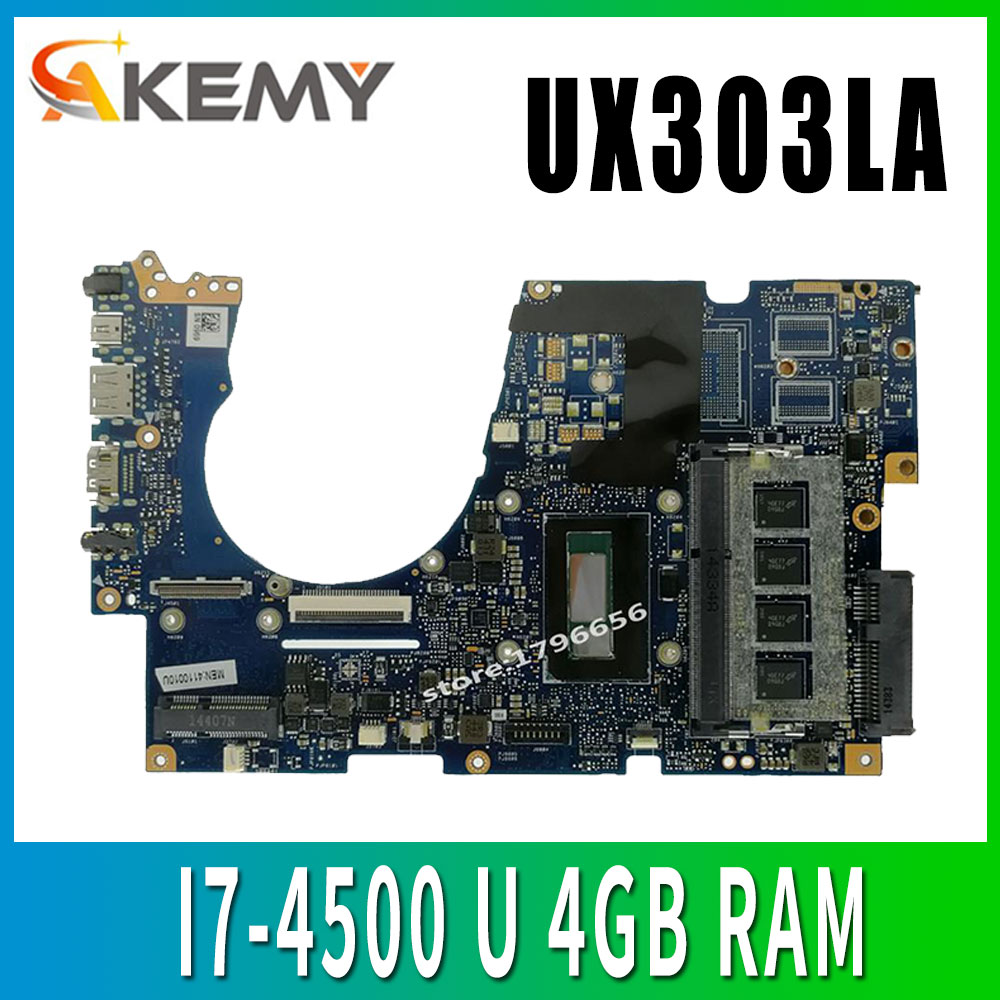 UX303LA اللوحة REV2.0 I7 U ل ASUS UX303LN UX303 UX303L UX303LNB اللوحة المحمول UX303LA اللوحة UX303LA اللوحة