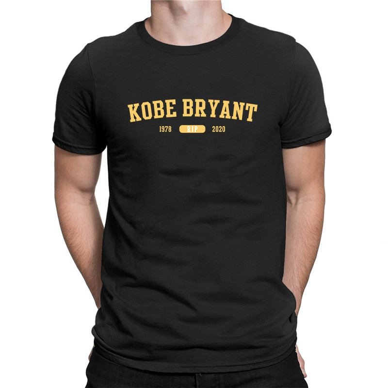 Kobe Bryant RIP 1979-2020 Print T Shirt forever mamba Men's T-shirt New Fashion Short Sleeve Tops Loose Casual Tee
