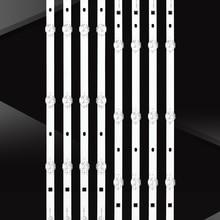 8PCS LED Backlight strip 5 lamp for LE500-E1W JS-D-AP49DH-A51EC JS-D-AP49DH-B51EC (70425) 14-01490D1