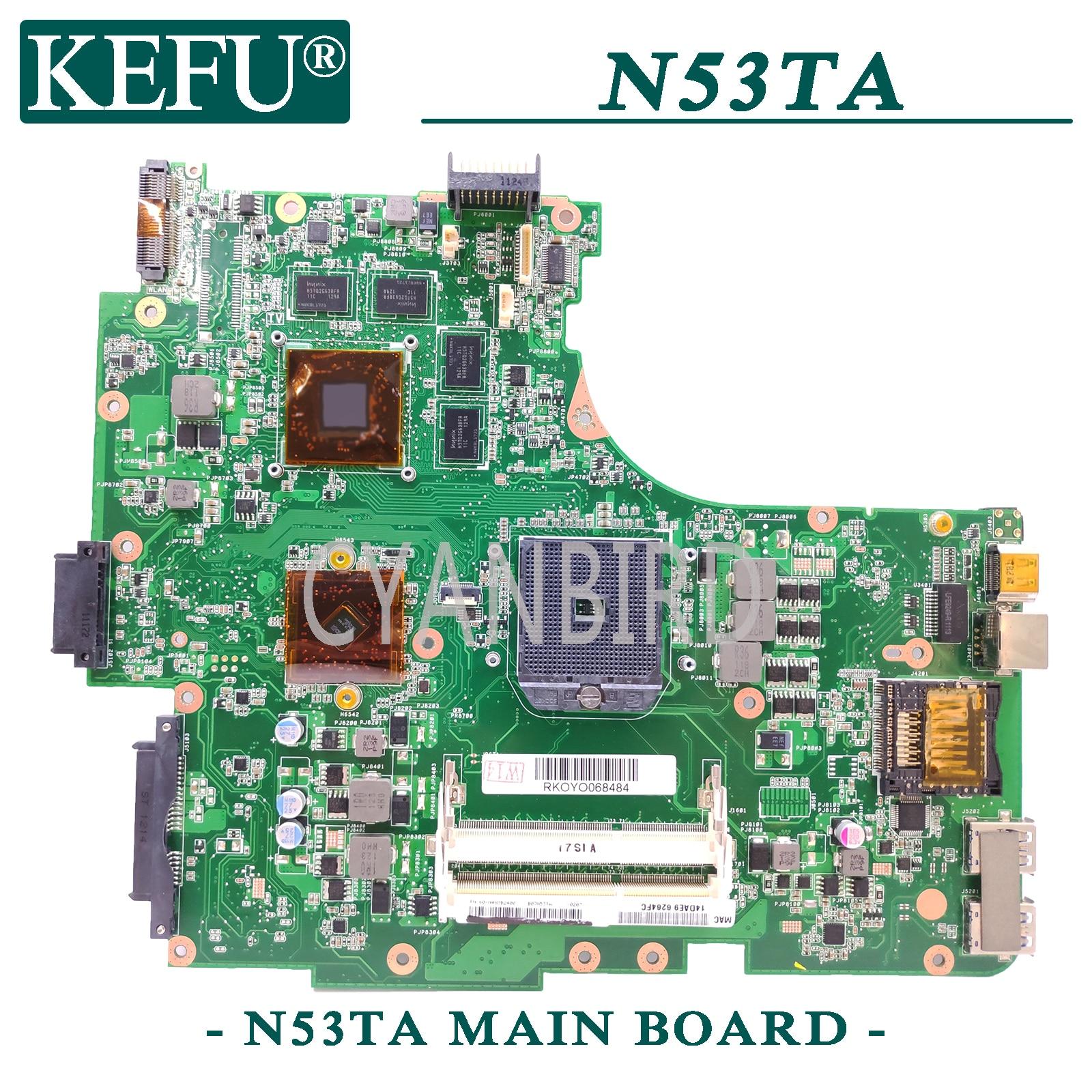 KEFU N53DA اللوحة الأم الأصلية لأجهزة الكمبيوتر المحمول ASUS N53DA N53D اللوحة الأم