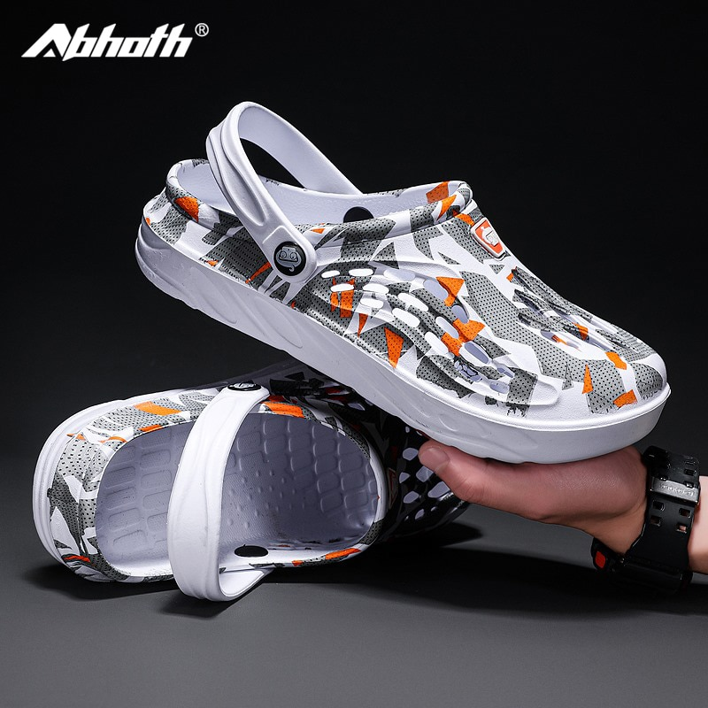 Abhoth Men Shoes Summer Breathable Beach men sneakers Large Size Shoes for Men Outdoor Running Leisure Vacation Zapato De Hombre