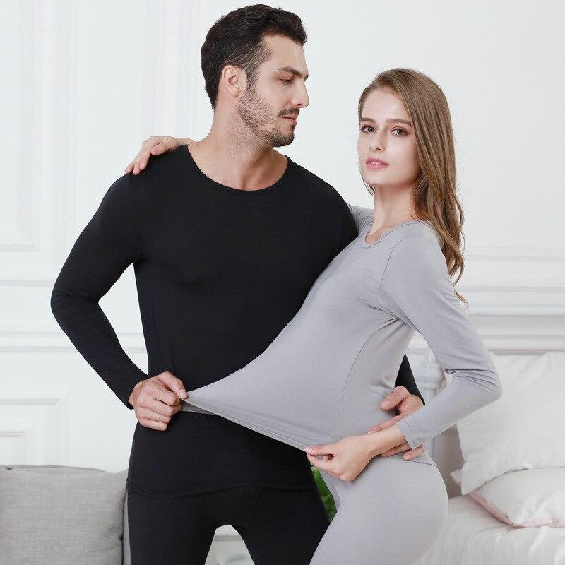 جديد شتاء طويل جونز سميكة الحرارية الرجال ملابس داخلية قطنية مجموعات الدفء ل Worldwide النساء الملابس الداخلية الدعاوى
