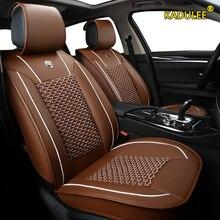 KADULEE 1pcs car seat cover For skoda kodiaq superb 2 3 rapid spaceback octavia 2012 fabia 2 felicia accessories seat covers