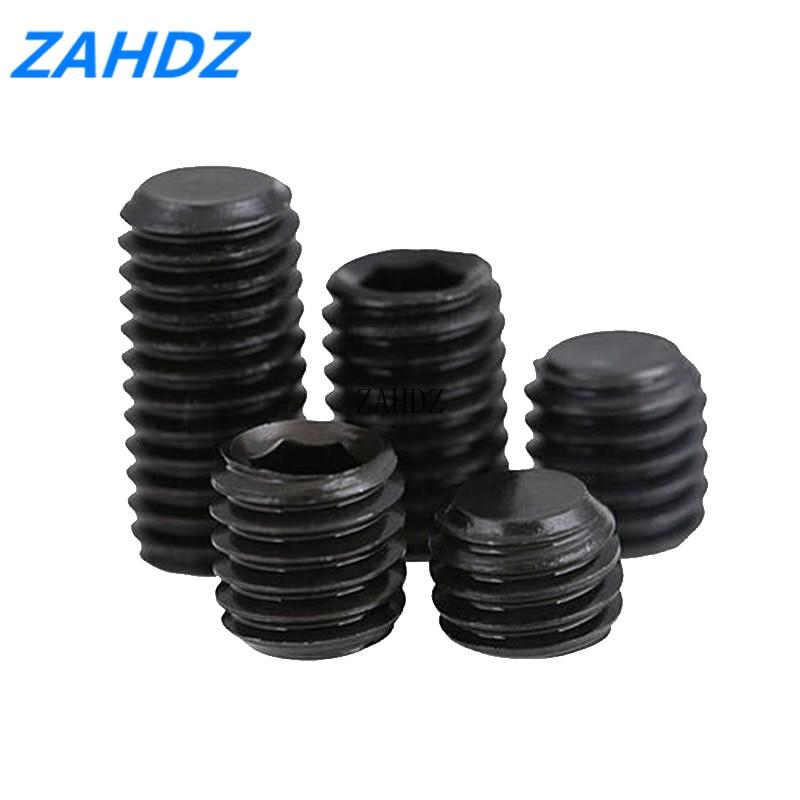 20-50 шт M3, M4, M5,M6,M8 DIN913 метрические резьбовые винты из углеродистой стали с шестигранной головкой