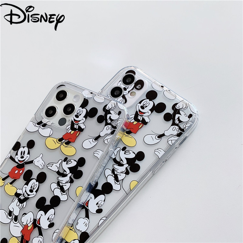Disney phone case for 12ProMax phone case 12mini/XR/11/7Plus/8/x/xs/xsmax/11/11pro/11promax/12pro Mickey phone cover  - buy with discount