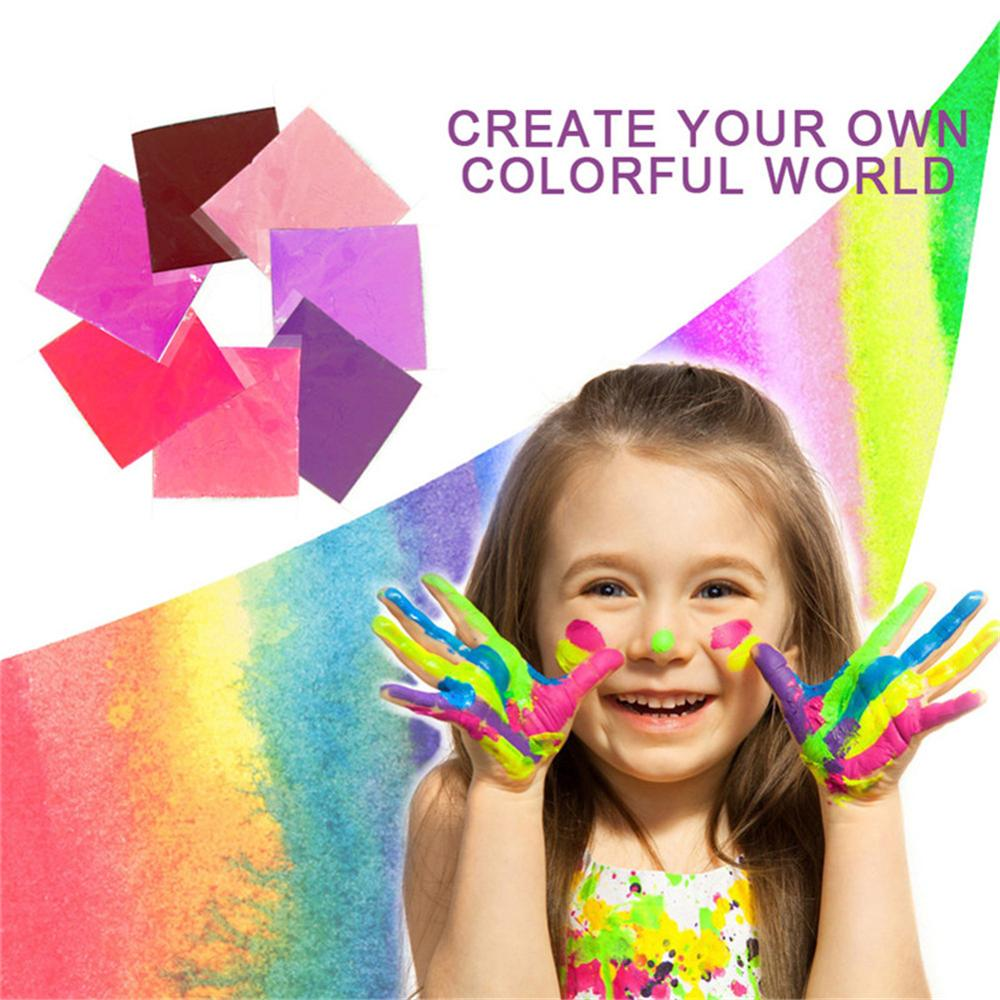 Juego de 7 Uds de tinte de corbata, ropa Diy, tela de Graffiti, pintura textil, pintura colorida para ropa, conjunto de pigmento en polvo para teñir ropa