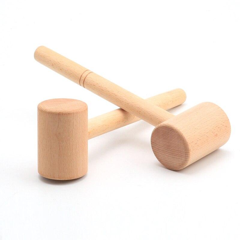 Hamer europeo Houtsnijwerk mazo europeo Ponsen Hamer Evenwichtige carpintero Malle Lederen de talla
