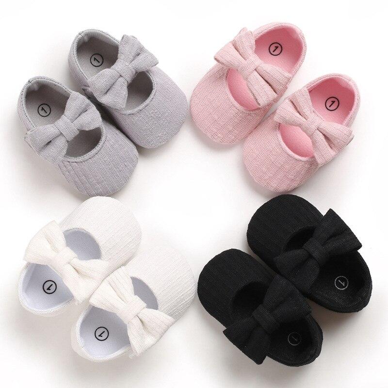 Neugeborenen Baby Mädchen Erste Wanderer Schuhe Infant Kleinkind Weiche Sohle Anti-slip Baby Schuhe Weiche Sohle Krippe Schuhe Neugeborenen boden Schuhe