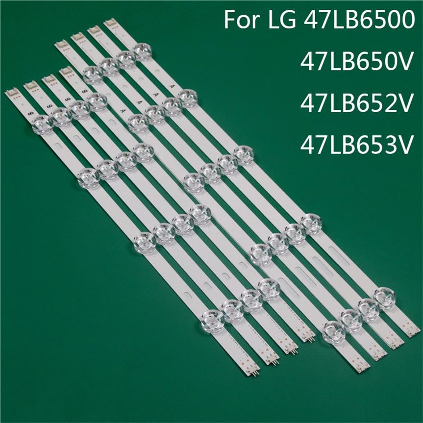 LED TV الإضاءة جزء استبدال ل LG 47LB6500 47LB650V 47LB652V 47LB653 LED بار الخلفية قطاع خط حاكم DRT3.0 47 ab