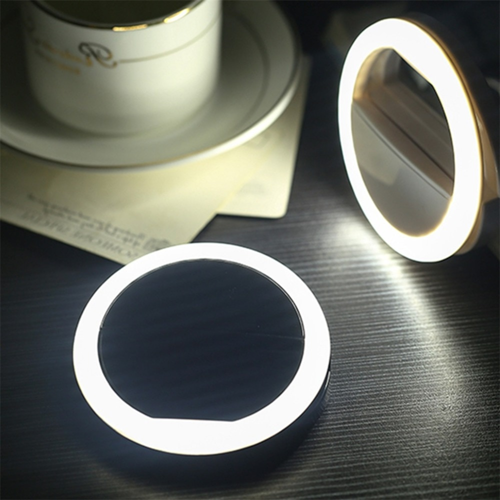 USB charge LED Selfie Ring Light for Iphone Supplementary Lighting Selfie Enhancing Fill Light For All Mobile Phones Smart Phone enlarge