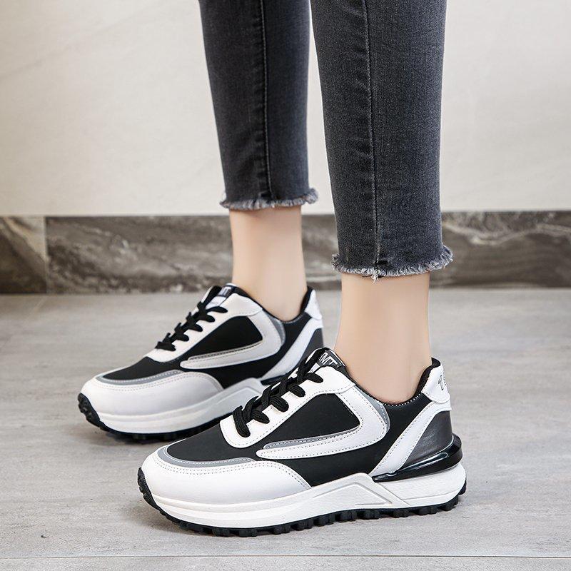 Zapatillas nuevas vulcanizadas con cordones para Mujer, Calzado deportivo de malla, para...