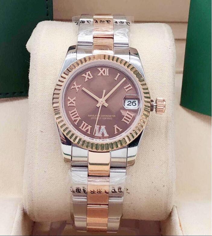 Hot High quality fashion ladies watch 31mm datejust sapphire waterproof automatic mechanical watches sports womens wristwatch ch