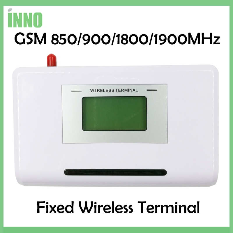GSM 850/900/1800/1900MHZ Fixed wireless terminal with LCD display, support alarm system, PABX, clear voice,stable signal