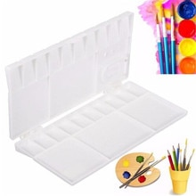25 Grids Plastic Palettes For Painting Drawing Toy Supply Kids Drawing Toy Palette Large Art Paint T