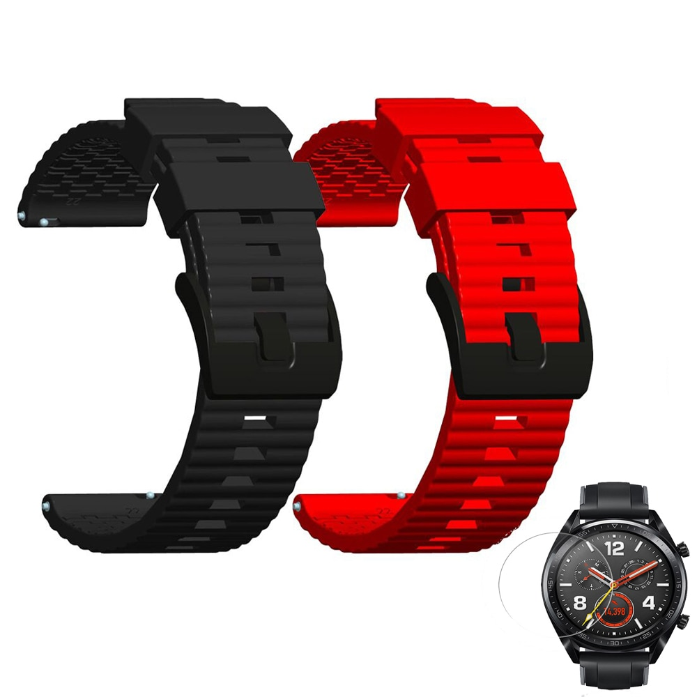Silicone Strap For Huawei Watch GT 2e 46MM Replacement Bracelet Belt Wristbands For Huawei Watch GT 2 42MM GT2E Watch Band Strap недорого