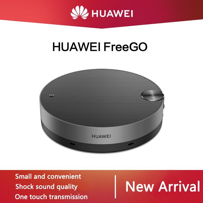 Huawei Freego-مكبر صوت لاسلكي محمول ، بلوتوث ، ميكروفون مزدوج ، شحن سريع ، NFC ، جودة صوت مذهلة ، CM530