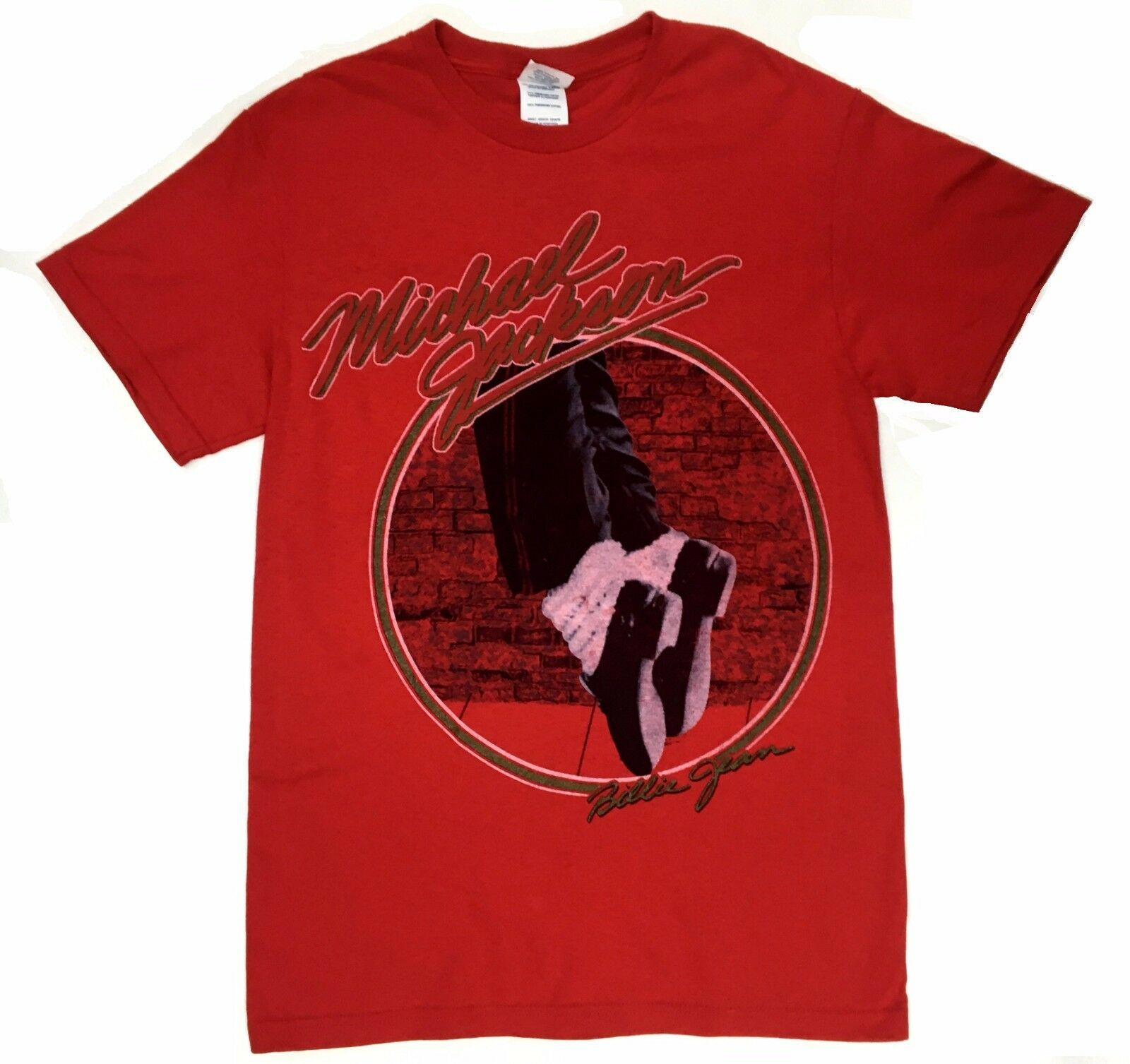 ¡Michael Jackson Billie Jean Moon Walker camiseta S-2Xl 100% auténtico raro!