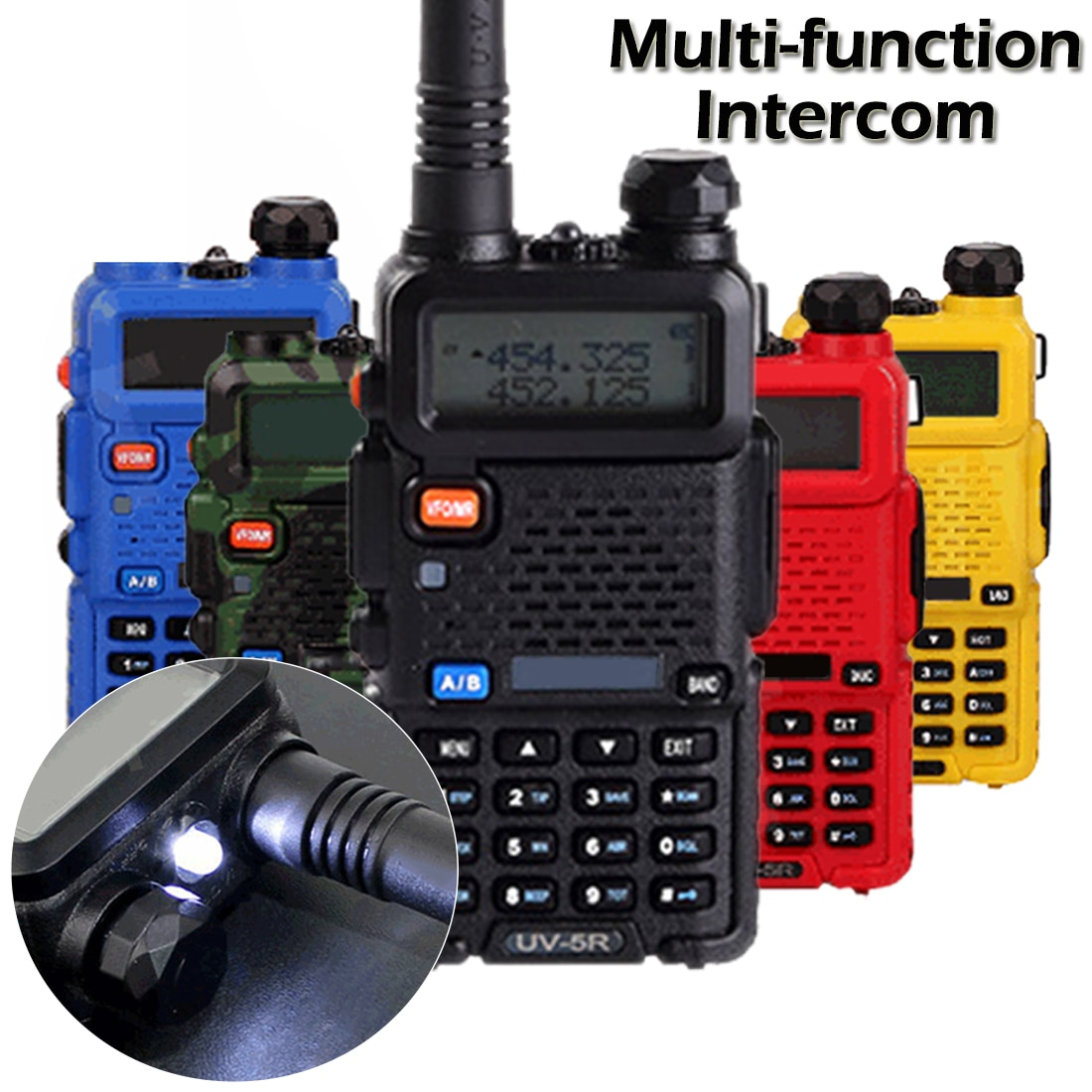 Walkie-talkie ham radio communication high-frequency transceiver radio scanner two-way radio walkie-talkie