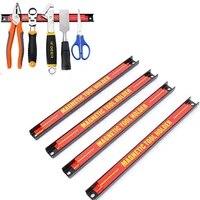 tacy 24 strong magnetic tool holder rack metal magnet storage tool organizer bar
