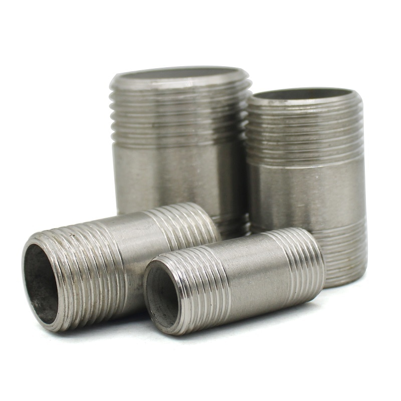 Фото - Water connection 1/4 3/8 1/2 3/4 1 1-1/4 1-1/22 Male X Male Threaded Pipe Fittings Stainless Steel SS304 water connection adpater 1 8 1 4 3 8 1 2 3 4 1 1 1 4 1 1 2 female threaded pipe fittings stainless steel ss304