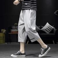 latest design plus size 5xl cropped cargo pants men street wear casual cargo shorts