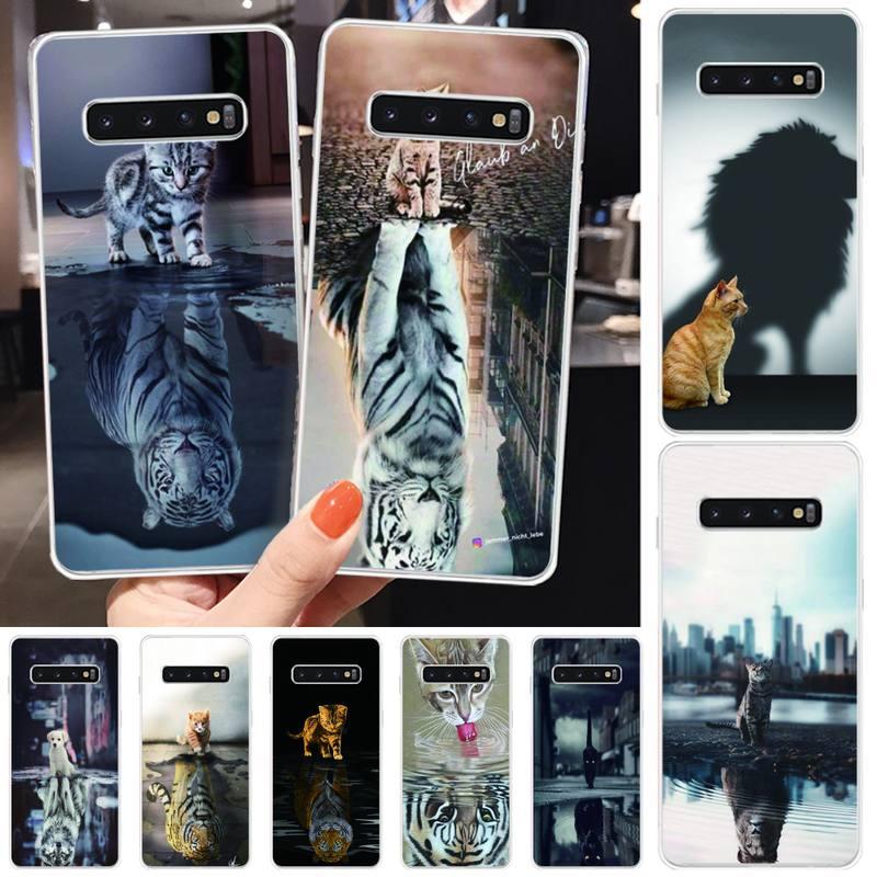 Funda de teléfono de silicona TPU con estampado de animales para Samsung S6, S7, S7 edge, S8, S8 Plus, S9, S9 Plus, S10, S10 plus, S10 E(lite)