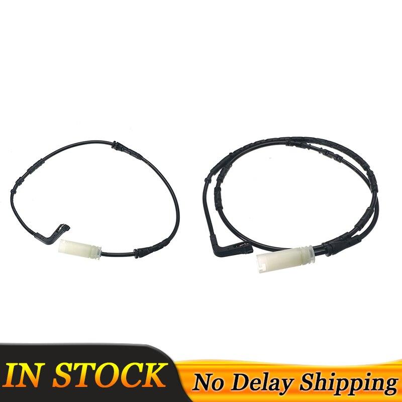 Передний + задний 2 предмета дисковые Тормозные колодки Одежда Предупреждение Сенсор для хэтчбеков BMW серий 1 E81 E82 E87 E88/3 серии E90 E91 E92 E93