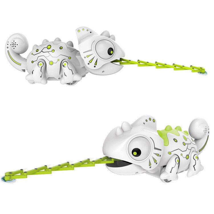Golden Light 777-618 Remote Control Chameleon 2.4G Stone Electric Pet Light Children'S Educational Toy