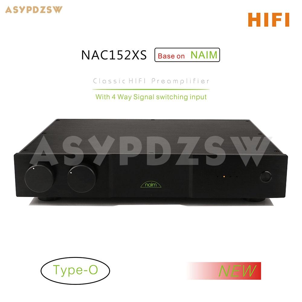 HIFI LPS (Type-O)-مضخم صوت قائم على NAIM NAC152 ، مع 4 مداخل لمضخم الطاقة NAP200/NAP250