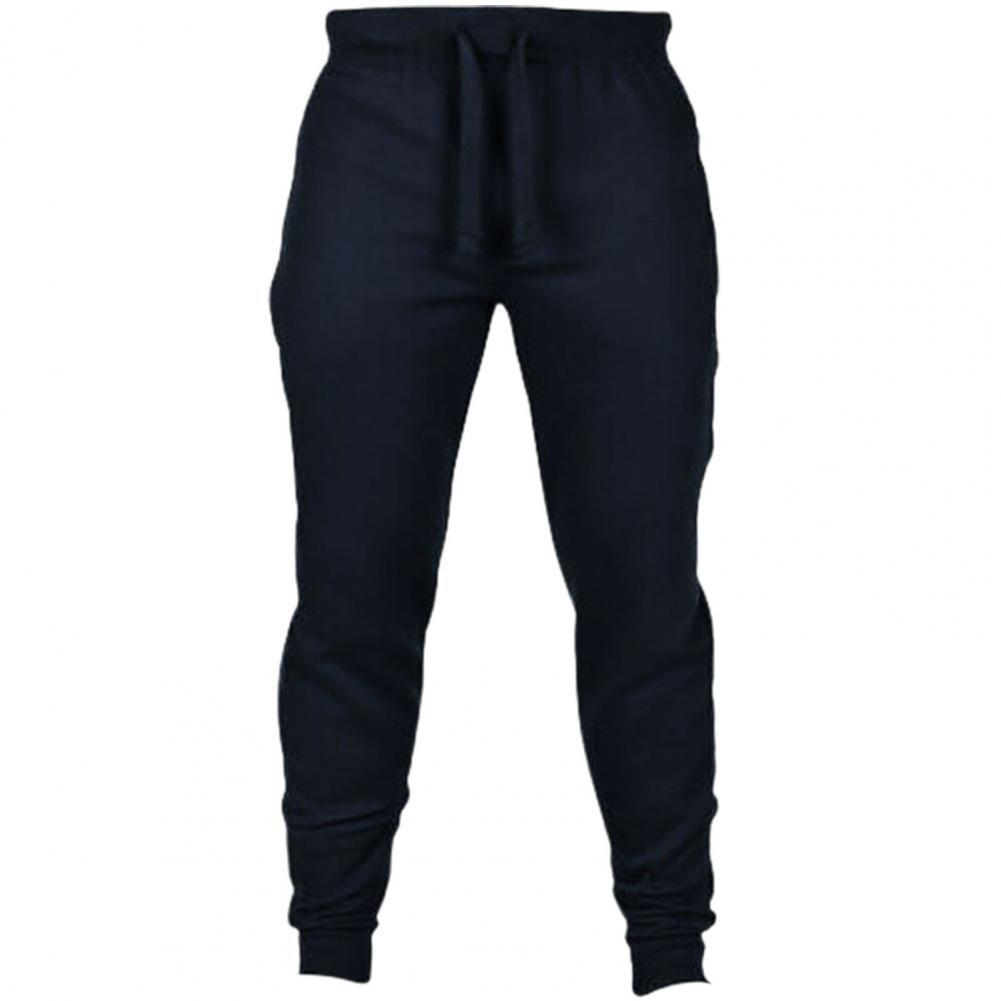 De algodón de los hombres pantalones de chándal de Otoño de invierno...