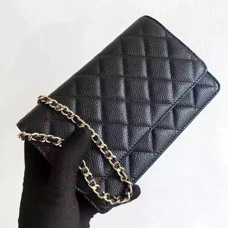 قمة فاخرة Woc موضة بسيطة صندوق مربع صغير المرأة مصمم عالية الجودة والجلود سلسلة الهاتف المحمول حقيبة يد واحدة