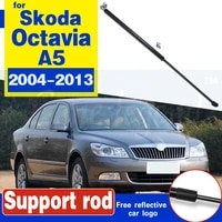 for skoda octavia a5 2004 2006 2007 2008 2009 2011 2012 2013 bonnet hood cover gas shock lift strut bars support hydraulic rod