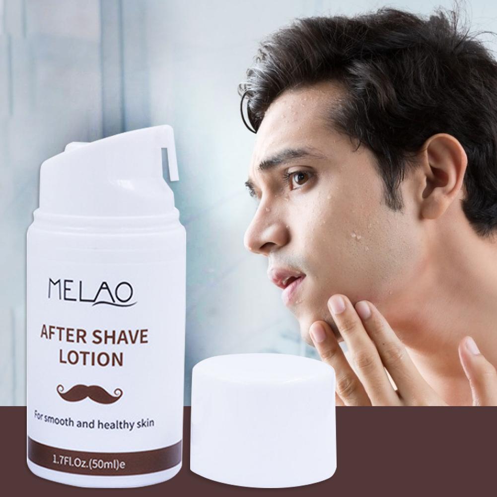 Aftershave Lotion 50g Men Moisturizing facial Toner Shrinking pore minimizer Whitening tonic face aftershave for men lotion 30P