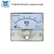 85c1 DC แรงดันไฟฟ้าโวลต์มิเตอร์5kV 10kV 20kV 50kV 100kV ตัวชี้ Voltmeter ความต้านทาน Kilovoltmeter การตรวจจับแรงดันไฟฟ้าสูงติ...