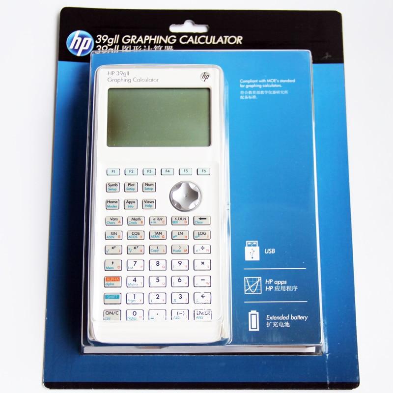 Hp39gii الرسوم البيانية آلة حاسبة Sat / Ap امتحان آلة حاسبة علمية مخصصة الكمبيوتر لعلوم الأطفال الفيزياء الرياضية