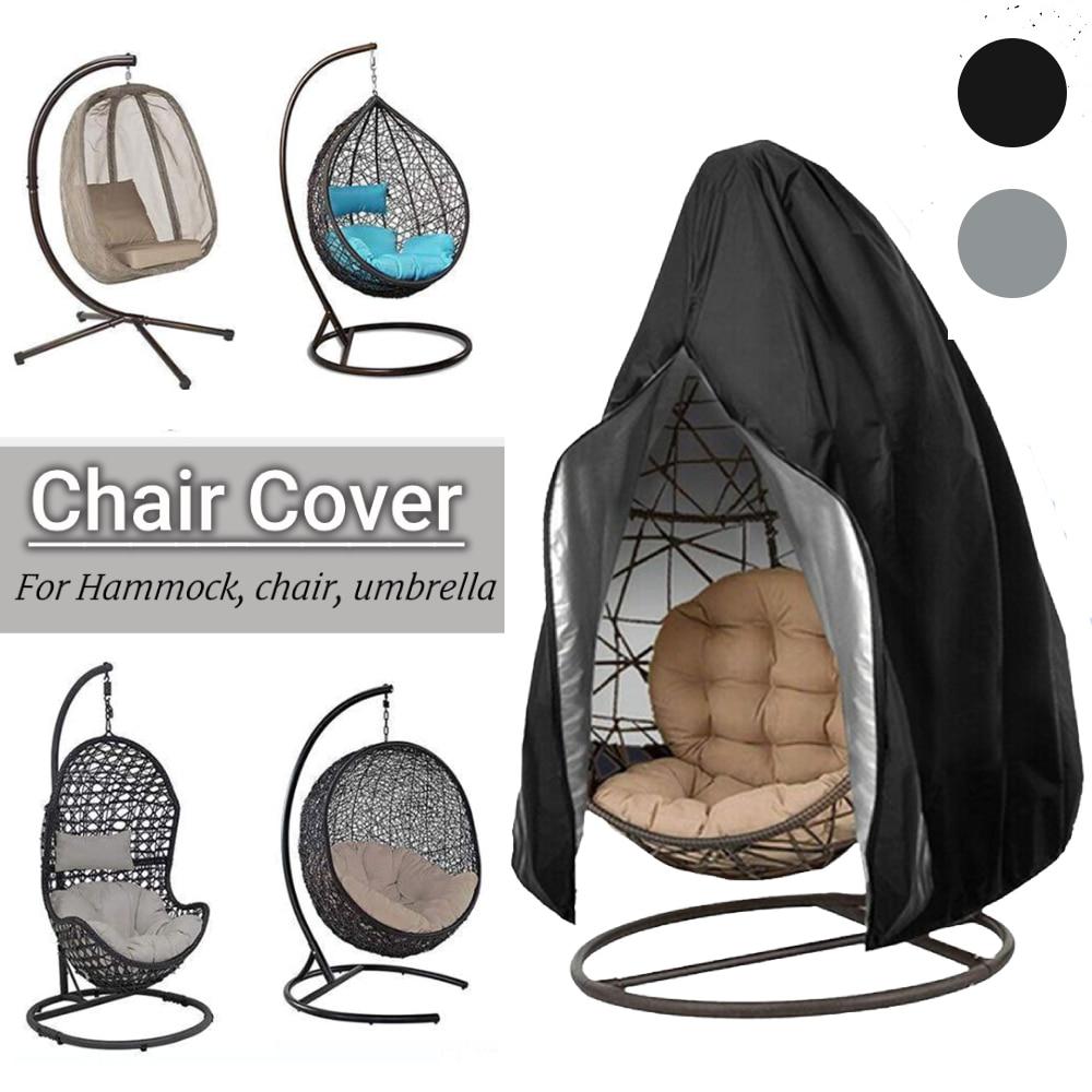 Swing Chair Dust Covers Anti-UV Waterproof Swing Patio Weave Hanging Egg Chair Cover Garden Outdoor Furniture Covers gartenstuhl
