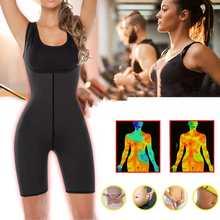S-2XL femmes taille formateur body sueur chaude Sauna costume taille Cincher body vêtement sculptant en néoprène Corset tissu perte de poids