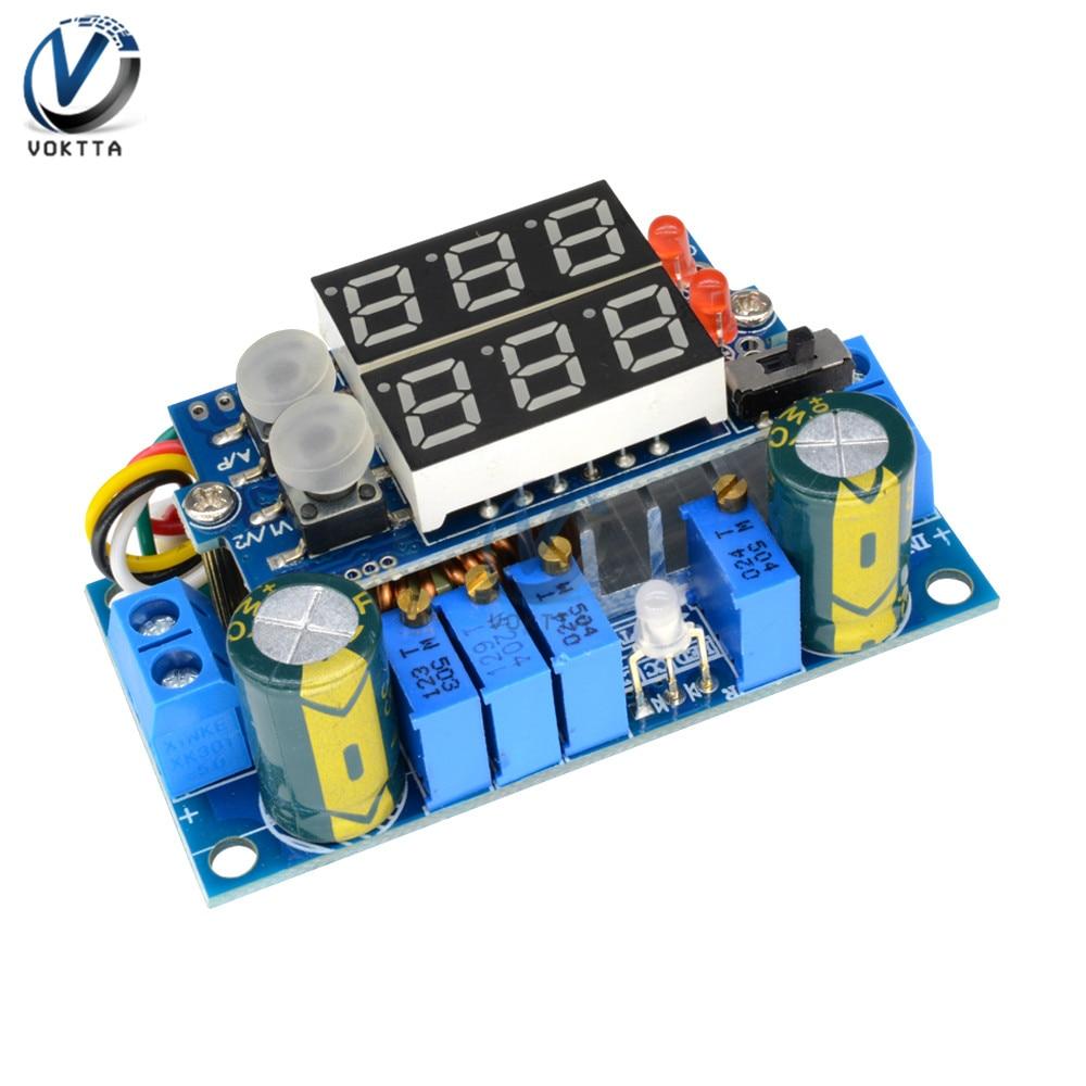MPPT 5A DC-DC módulo convertidor de potencia módulo regulador de voltaje transformador de potencia LED Digital CC/CV carga de batería