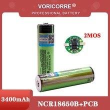2021ป้องกัน Original 18650 NCR18650B 3400MAh ชาร์จ Li-Lon แบตเตอรี่ PCB 3.7V สำหรับไฟฉายแบตเตอรี่