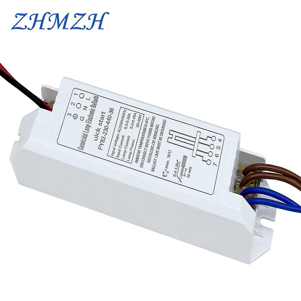 Balastos electrónicos universales AC220V para tubo de lámpara UV 2G11 4-18W 24W 36W 55W lámpara germicida ultravioleta luces esterilizadoras UVC