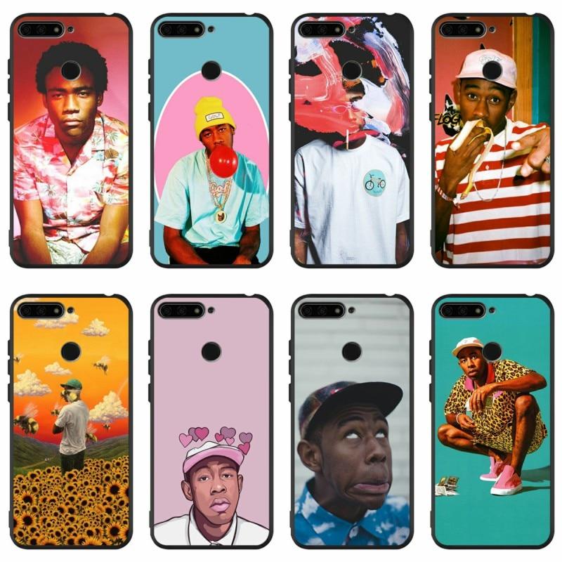 Tyler capa de celular para huawei honor 8 8x 9 10 lite 20 mate, pop rap singer 10 20 30 lite pro y9