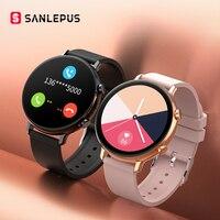 Смарт-часы SANLEPUS ECG PPG с набором звонков, новинка 2021, мужские и женские Смарт-часы с монитором кровяного давления для Android, Samsung, Apple